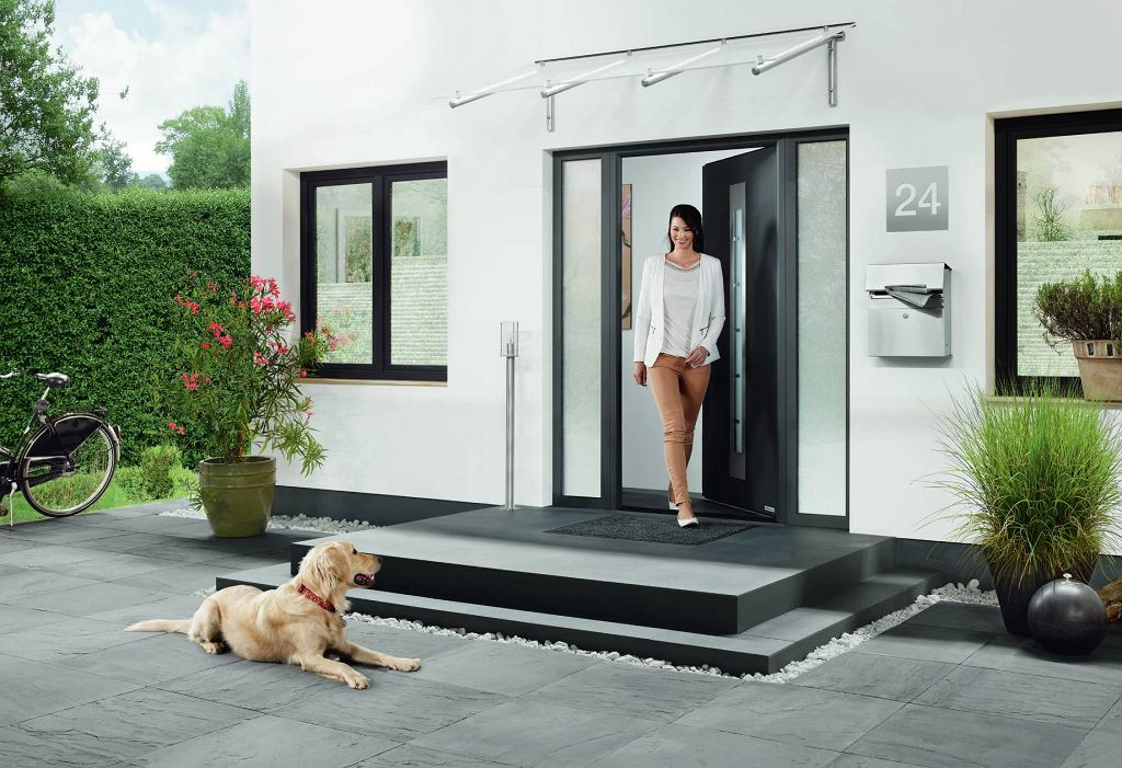 Drzwi stalowe Thermo65 wzór 750C