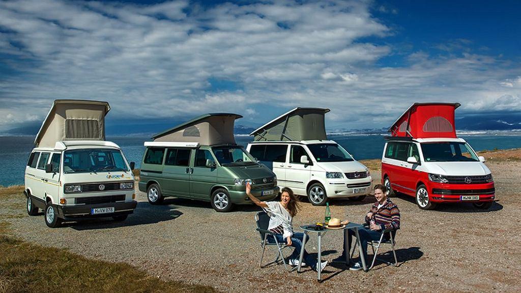 California pojawiła się na rynku w 1988 r. T6 to już jej czwarta generacja.