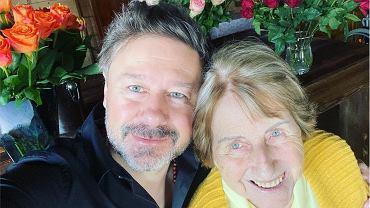Andrzej Piasek Piaseczny z mamą
