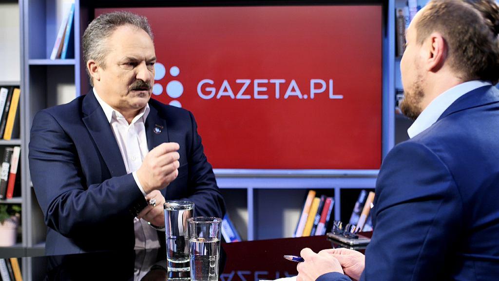Marek Jakubiak w porannej rozmowie Gazeta.pl