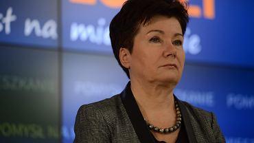 Prezydent Warszawy Hanna Grobkiewicz-Waltz