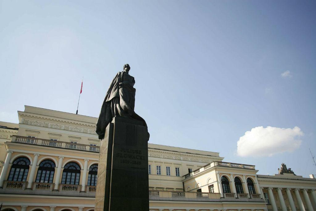 Pomnik Juliusza Słowackiego w Warszawie