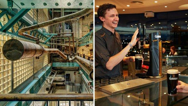 W browarze i muzeum Guinnessa w Dublinie, fot. guinness-storehouse.com