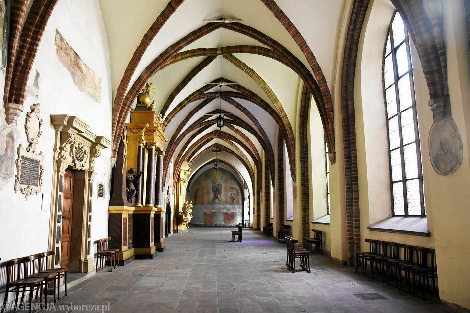 Klasztor dominikanów w Krakowie - krużganki