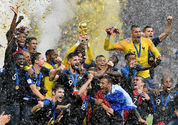 Francuski mistrz świata sprzedał swój złoty medal mundialu 2018