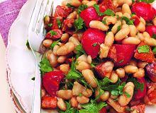 Sałatka z chorizo i fasoli - ugotuj