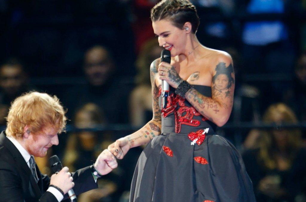 Ed Sheeran, Ruby Rose