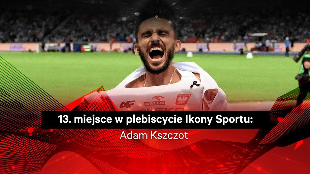 Adam Kszczot 13. w plebiscycie Ikony Sportu