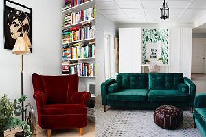 Welurowe meble i dodatki - miękkość w twoim domu