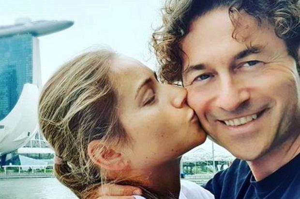 Piotr Rubik chętnie chwali się rodziną na Instagramie. Tym raz pokazał archiwalne zdjęcie z małżonką.