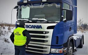 Straż graniczna zatrzymała skradzioną ciężarówkę oraz luksusowego mercedesa