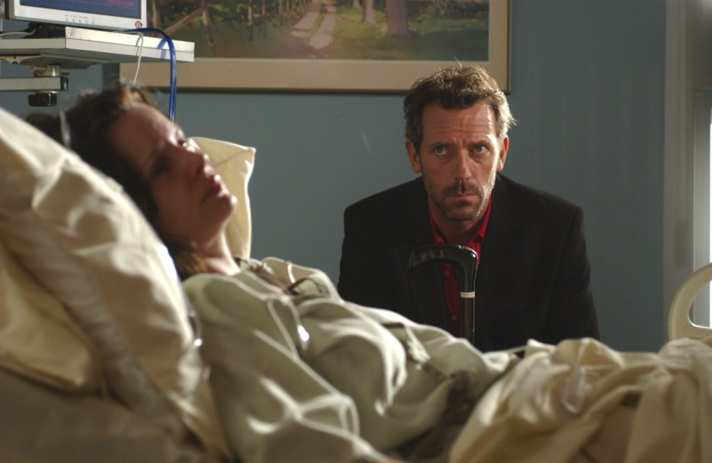 Kadr z serialu ''Dr House''
