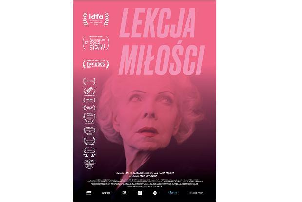 Plakat filmu 'Lekcja miłości' (fot. Materiały prasowe)