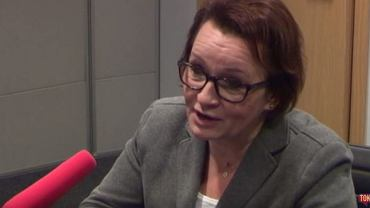 """Posłanka PiS Anna Zalewska w """"Poranku Radia TOK FM"""""""