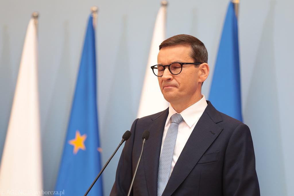 Premier Mateusz Morawiecki przesłał do Brukseli projekt Krajowego Planu Odbudowy na początku maja