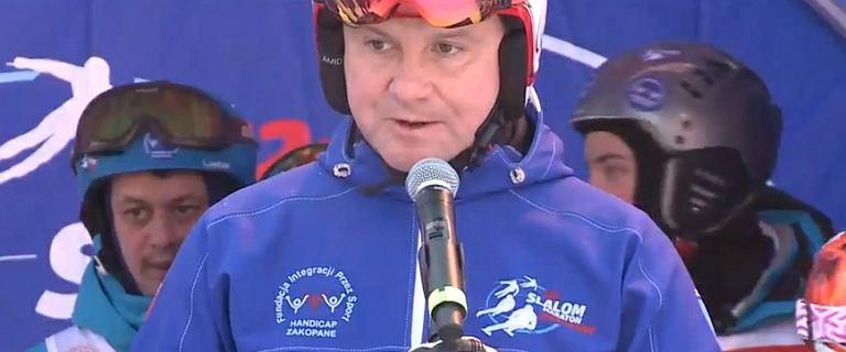 Andrzej Duda w Zakopanem: My ze świadczenia dobra nie zrezygnujemy