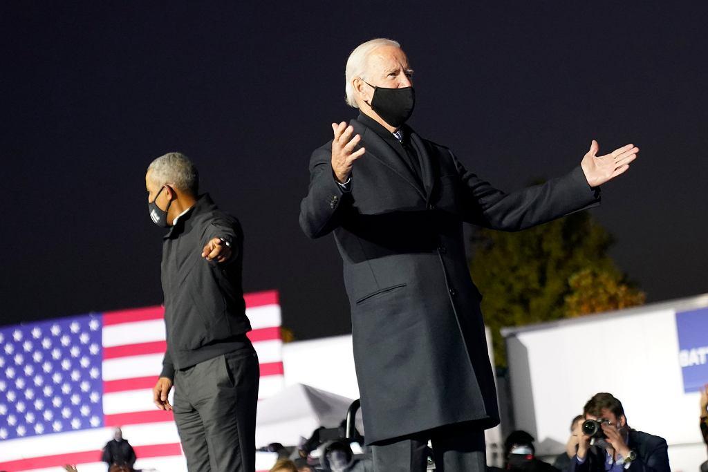 Obama wsparł Bidena. Wystosował przesłanie do Amerykanów: Rozważcie, jak blisko było cztery lata temu. Każdy głos się liczy