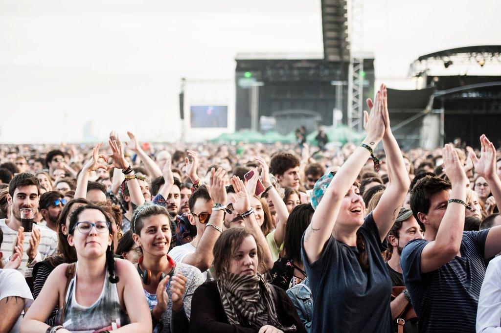 Fani na festiwalu Primavera