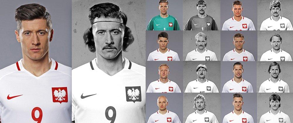 Polscy Piłkarze We Fryzurach Z Czasów Orłów Górskiego