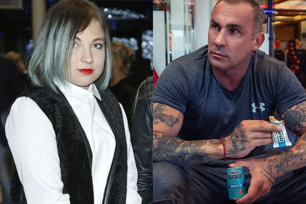 Przemysław Saleta i Nicole Saleta