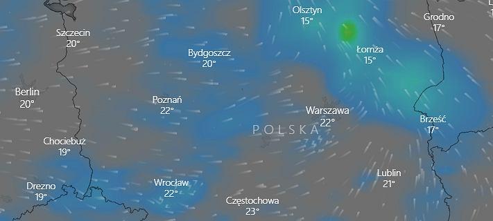 """Pogoda. Alerty IMGW dla dwóch województw. """"Polarna masa"""" nad Polską"""