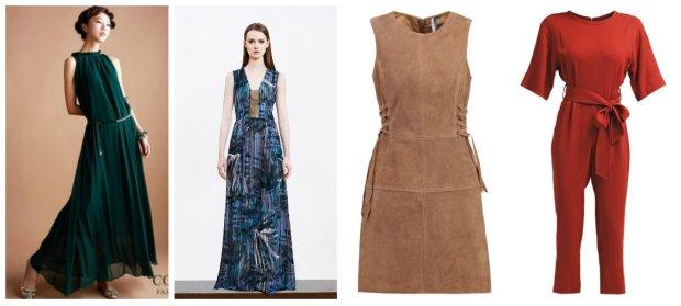 Sukienki i kombinezony to dobra podstawa stylizacji boho