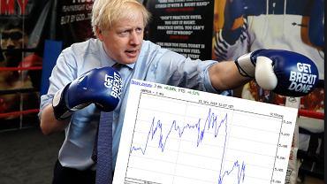 Brexit. Boris Johnson, premier Wielkiej Brytanii. Sondaże i kurs funta.