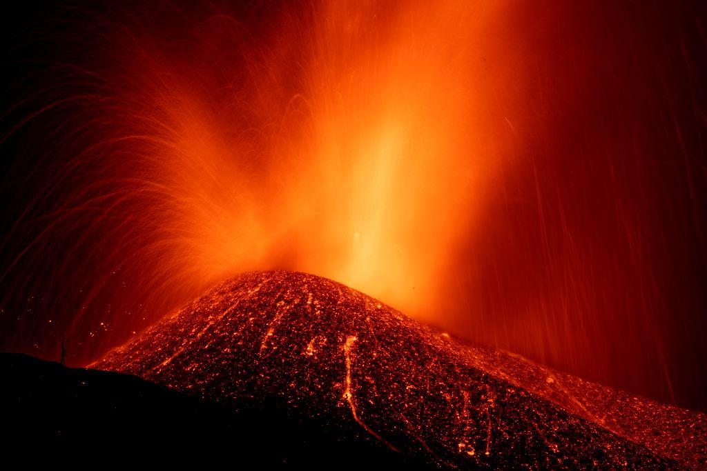Erupcja Cumbre Vieja