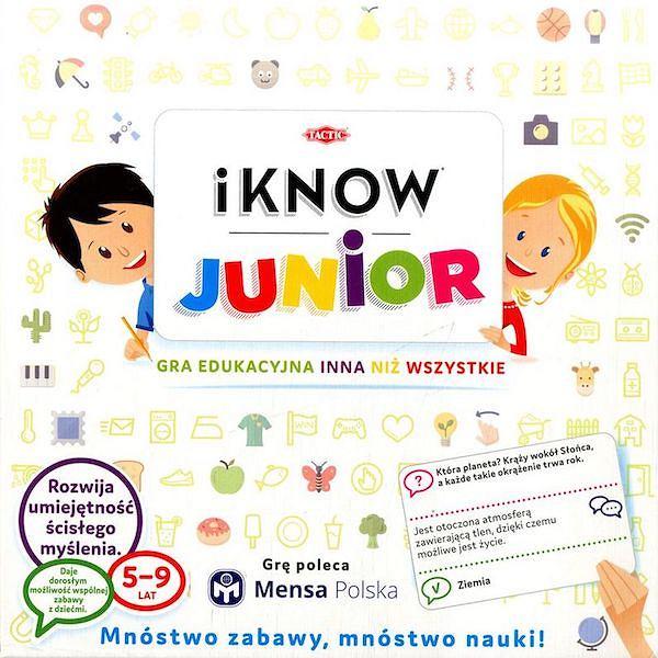 Gra planszowa iKnow Junior