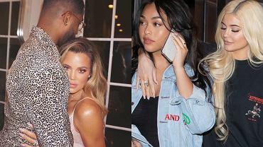 Khloe Kardashian, Tristan Thomspon, Kylie Jenner, Jordyn Woods