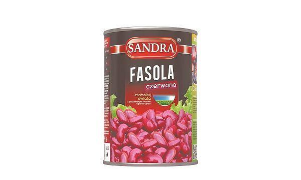 Sandra czerwona fasola