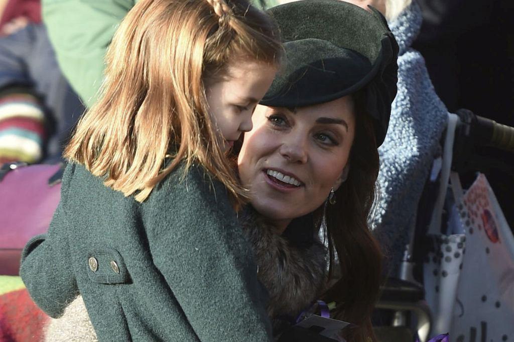 Księżna Kate z Charlotte