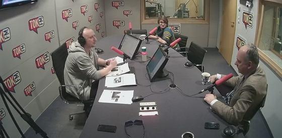 Samolińska i Zalewski w studiu radia TOK FM