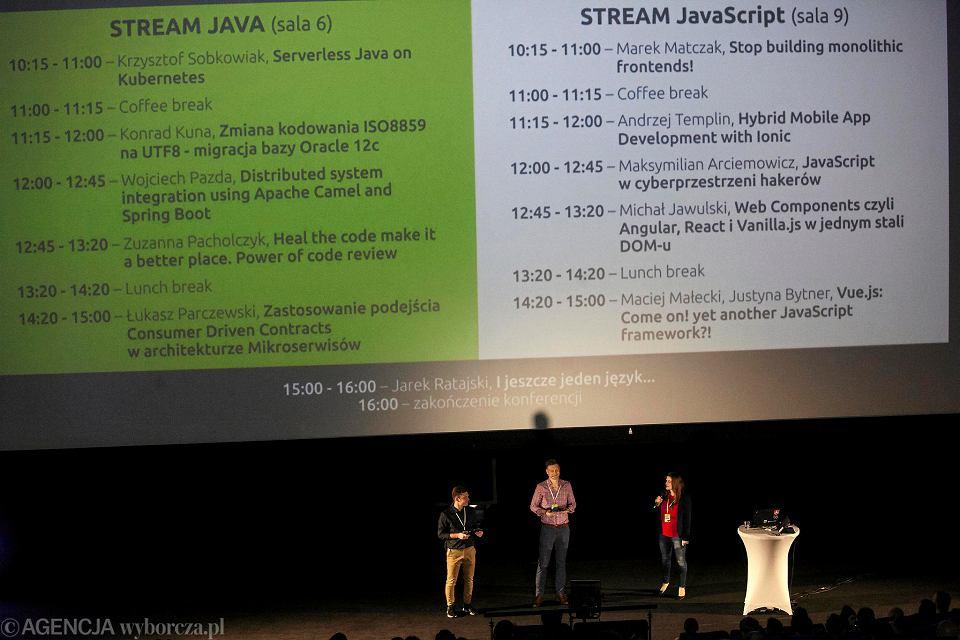 Capgemini zorganizowało konferencję naukową TechTalk Special Edition II - Java i Java Script