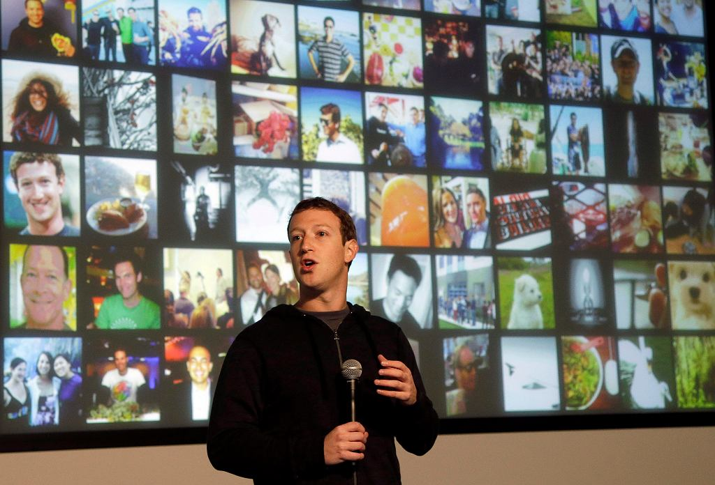 Mark Zuckerberg, szef Facebooka