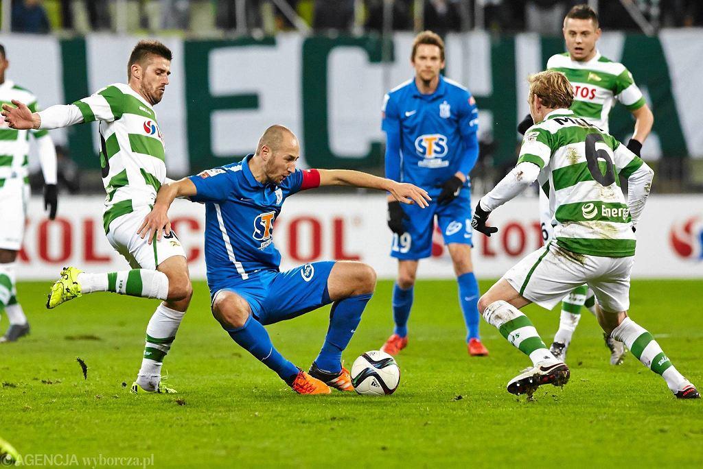 Lechia Gdańsk - Lech Poznań 0:1. Łukasz Trałka