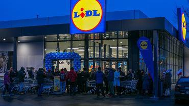 Sklep sieci Lidl (zdjęcie ilustracyjne)