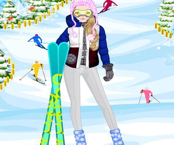 Ubieranka: czas na narty!