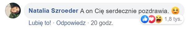 Komentarz Natalii Szroeder