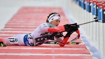 Monika Hojnisz-Staręga na mistrzostwach świata w 2019 r.