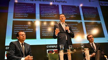 Mateusz Morawiecki na konferencji w sprawie OFE