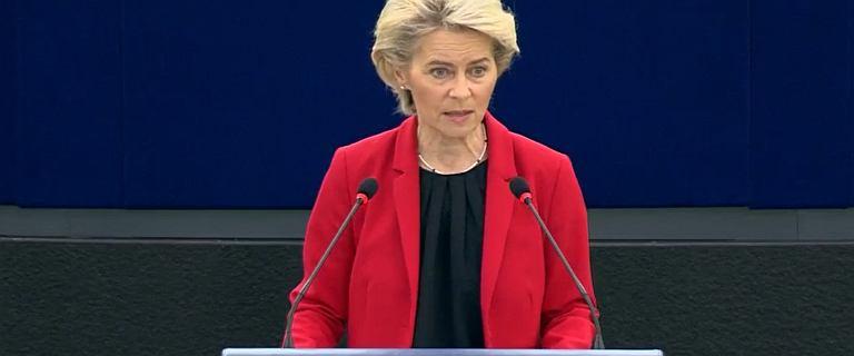 Debata w Parlamencie Europejskim. Von der Leyen: Sytuacja się pogorszyła