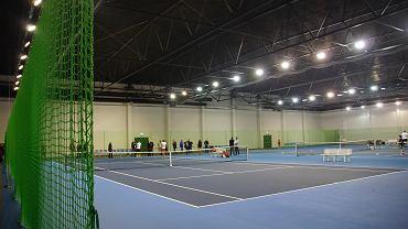 Hala tenisowa przy ul. Sulechowskiej