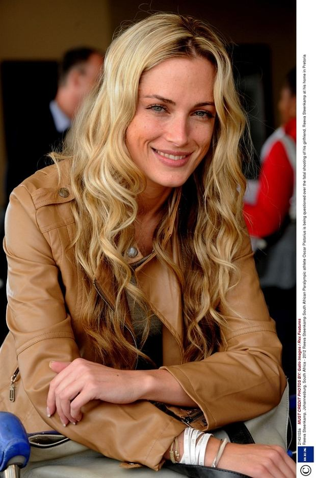 Mandatory Credit: Photo by Gallo Images / Rex Features (2143103a)  Reeva Steenkamp  Reeva Steenkamp, Johannesburg, South Africa - 2012  South African Paralympic athlete Oscar Pistorius is being questioned over the fatal shooting of his girlfriend, Reeva Steenkamp at his home in Pretoria