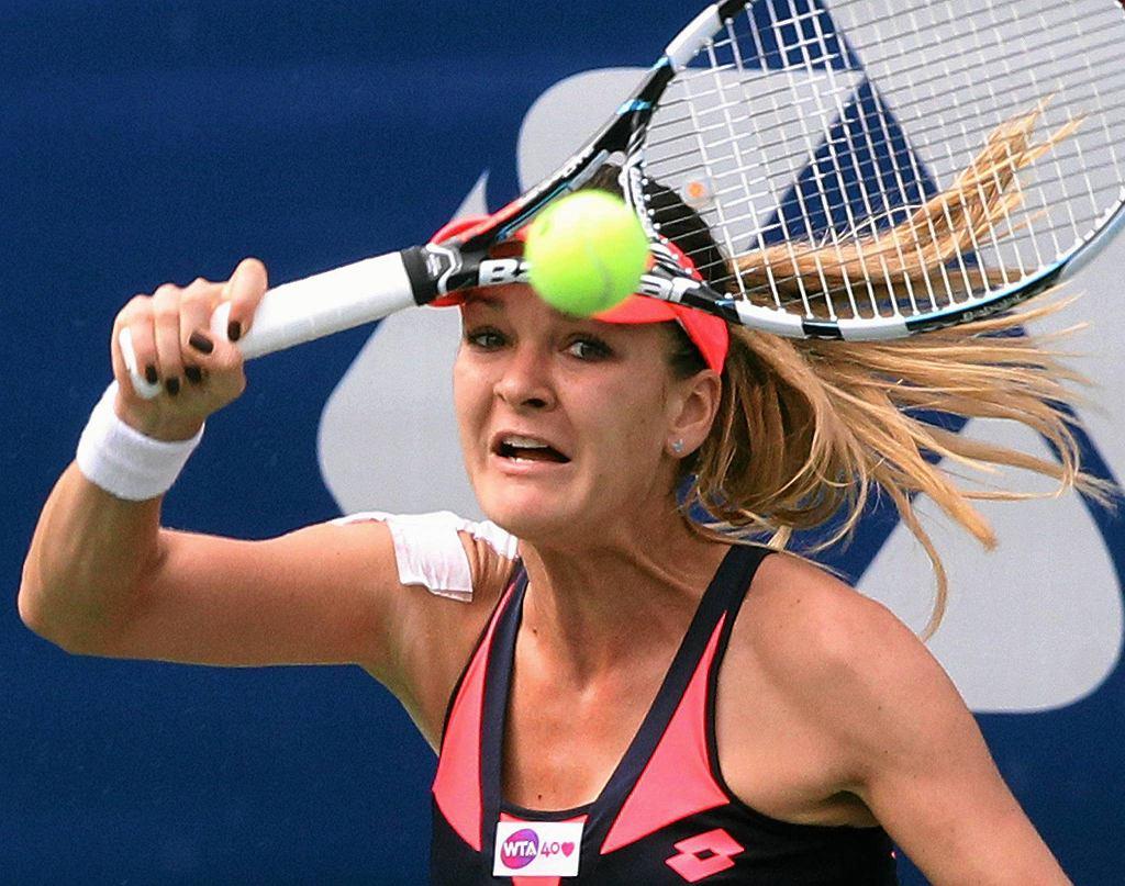 Agnieszka Radwańska w finale w Seulu