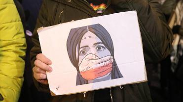 Demonstracja Strajku Kobiet - zdjęcie ilustracyjne