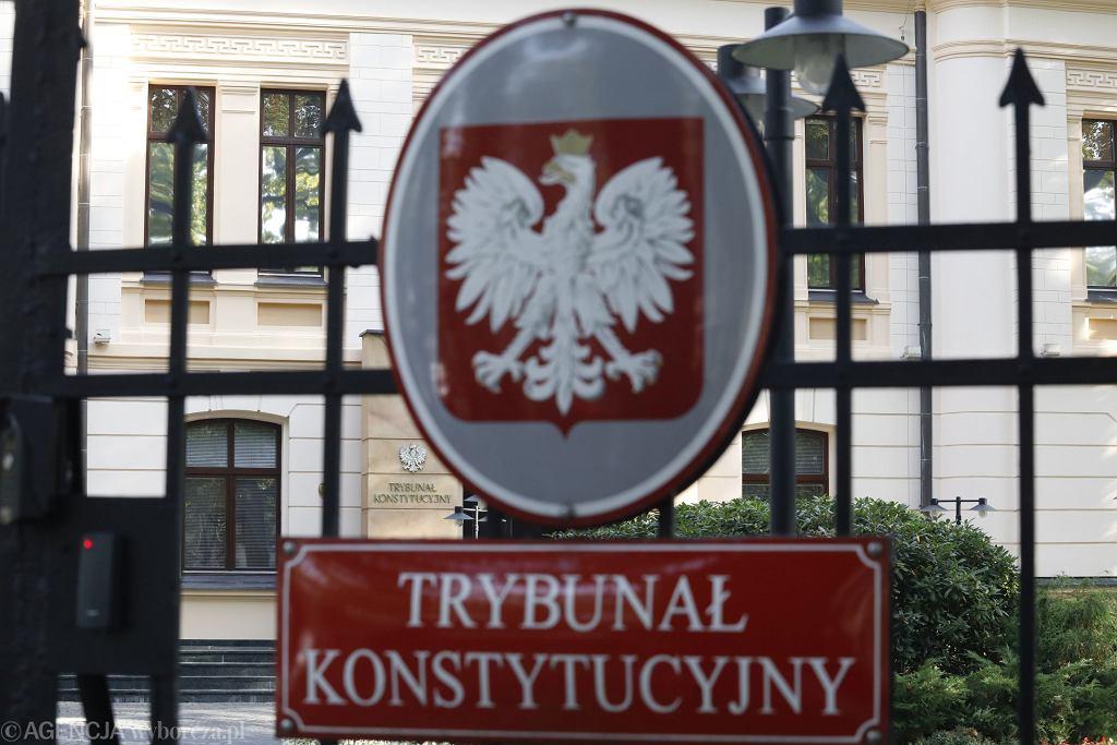 Trybunał Konstytucyjny w Warszawie
