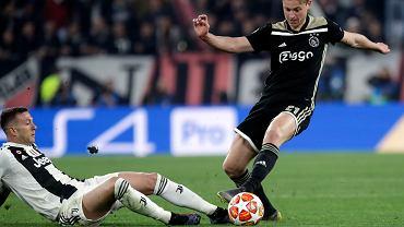 Frenkie de Jong skomentował zwycięstwo z Juventusem