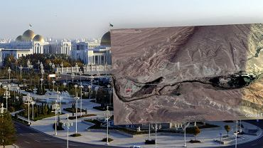 W Turkmenistanie odkryto tajemniczy kompleks zlokalizowany w górach
