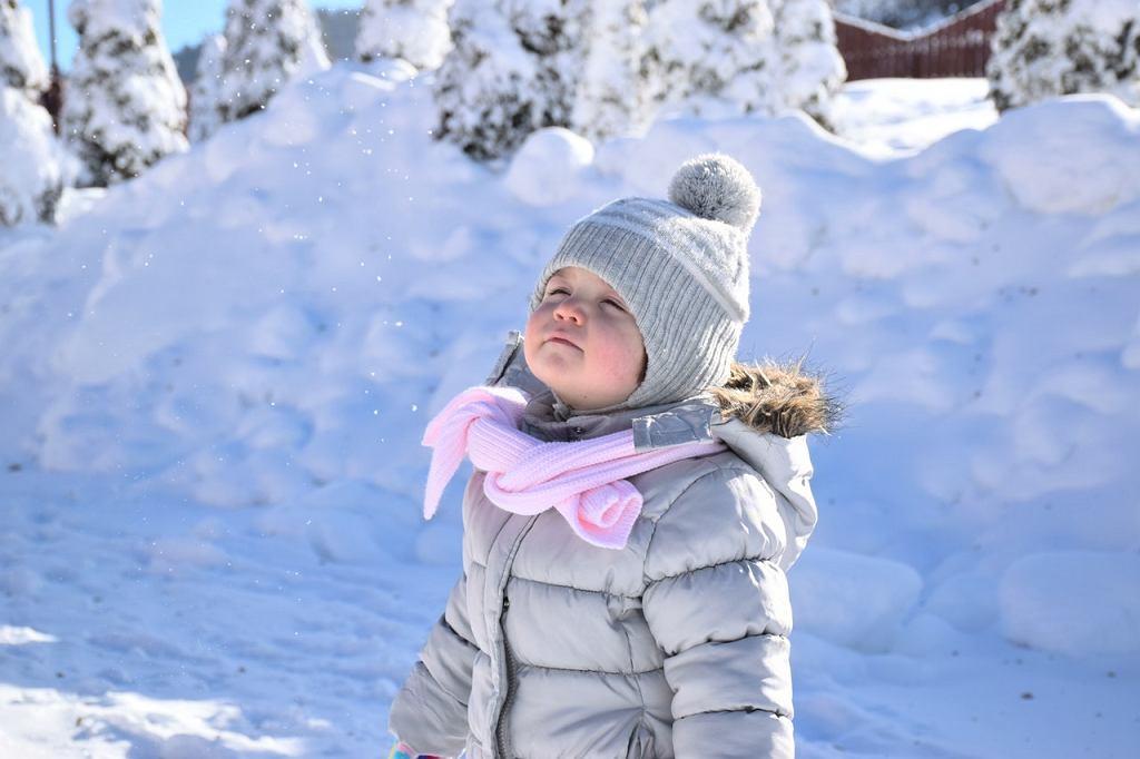 Zimowe kurtki i kombinezony dla najmłodszych